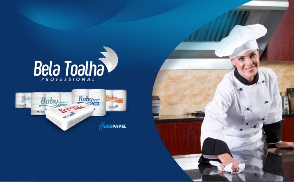 Higiene na cozinha é fundamental para garantir a qualidade na entrega das refeições