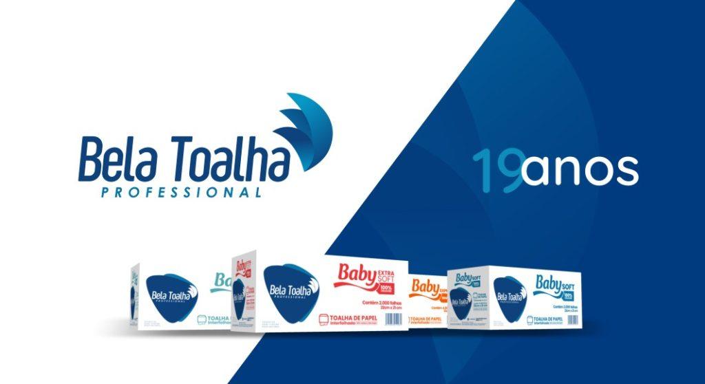 Bela Toalha Professional comemora 19 anos de uma trajetória de sucesso
