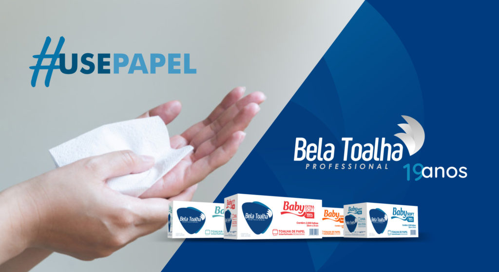 Toalha de tecido x Toalha de papel