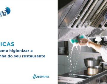 5 dicas de como higienizar a cozinha do seu restaurante